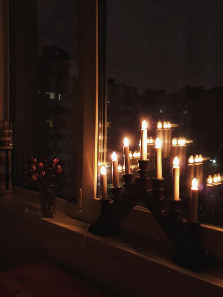 Рождественский светильник - менора | Slow Life Blog
