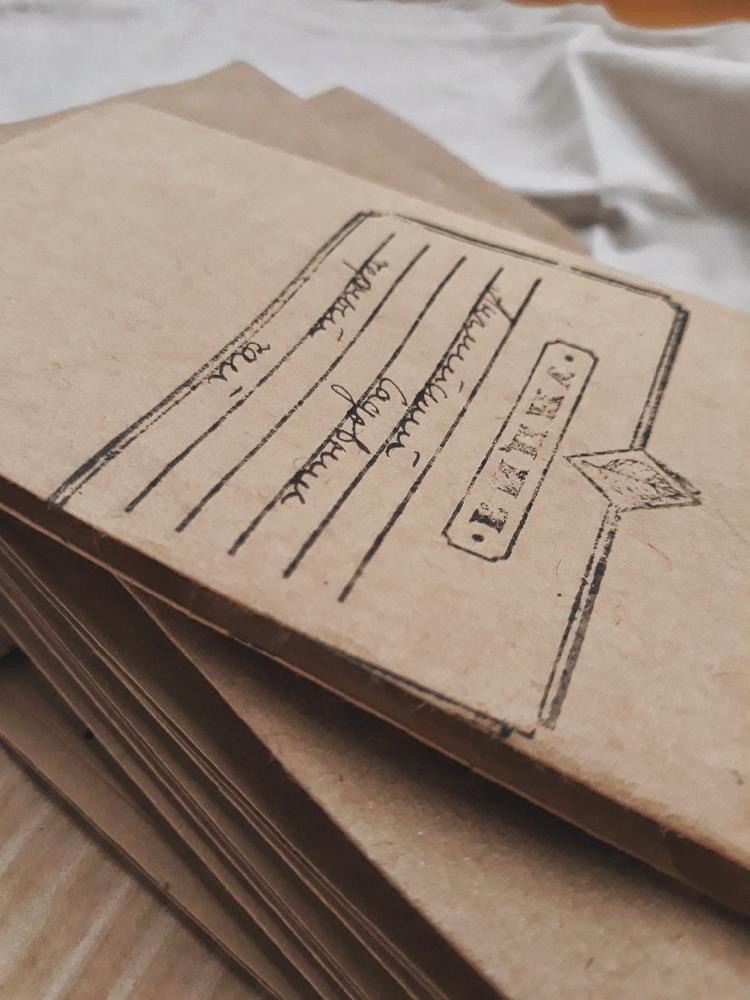 В крафтовые пакеты хорошо подходят для упаковки подарков | Slow Life Blog
