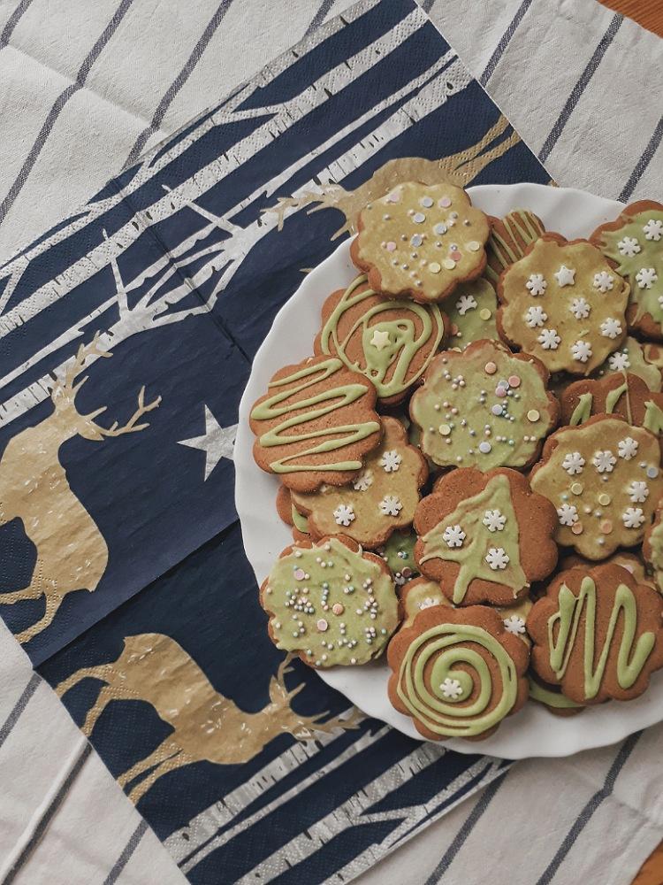 Новогоднее имбирное печенье | Slow Life Blog