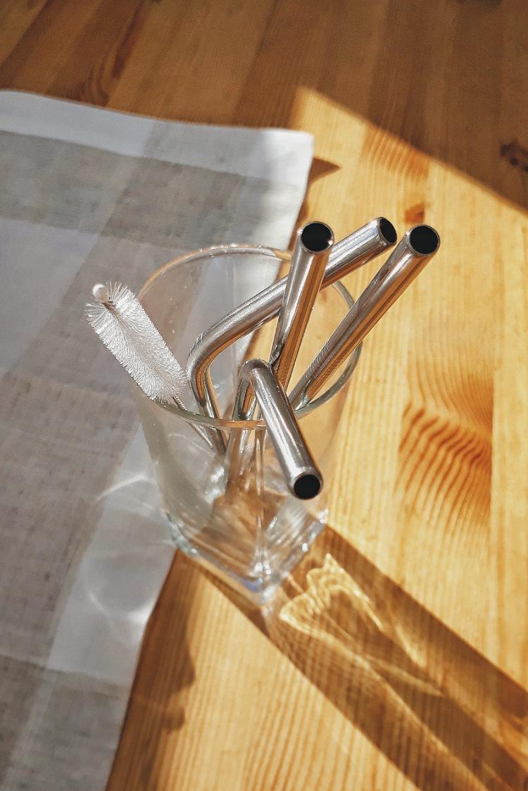 Экологичные металлические трубочки для коктейлей и лимонада | Slow Life Blog